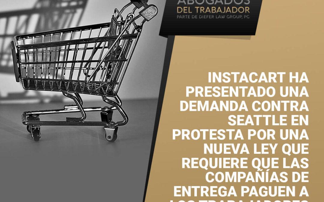 La nueva demanda de Instacart plantea preguntas sobre cómo se debe pagar a los trabajadores durante la crisis de COVID-19